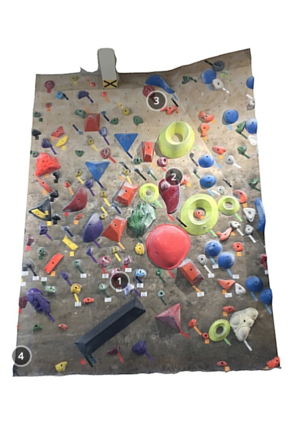Bouldering Gym Share 3Q
