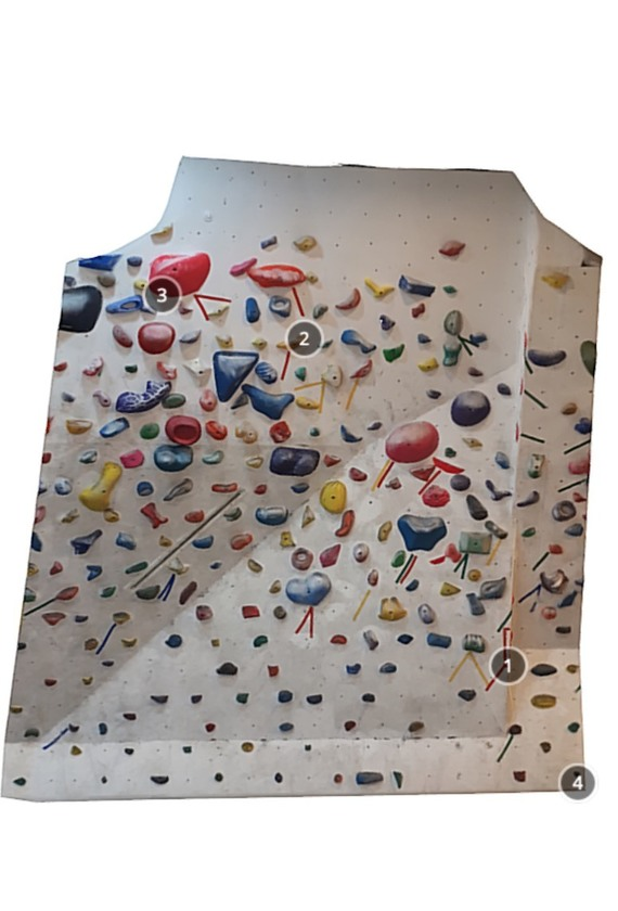 Son Sangwon Climbing Gym Red