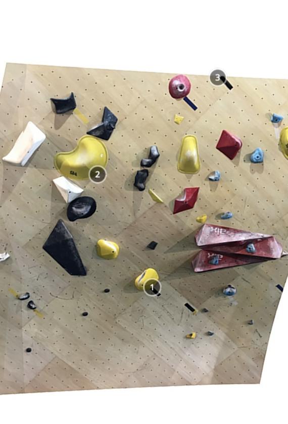 Bouldering Spot 9A 3D