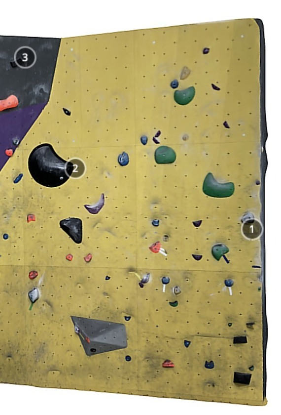 Manga Climbing Yellow