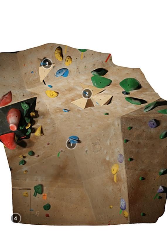 The Boulders Climbing Gym V6