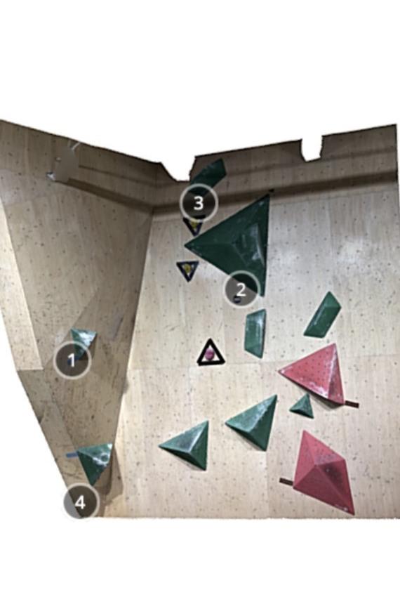 B-PUMP Ogikubo Level 3 Competition Wall