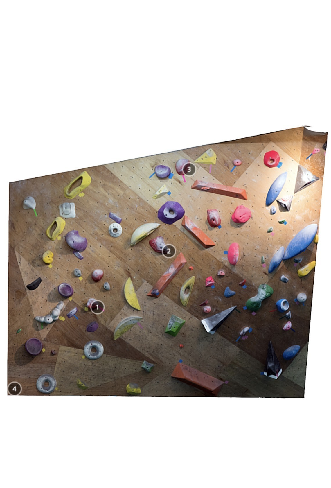 T-UP Climbing Gym Wanhua V2