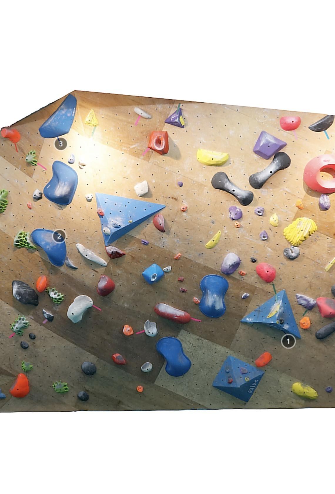 T-UP Climbing Gym Wanhua V7