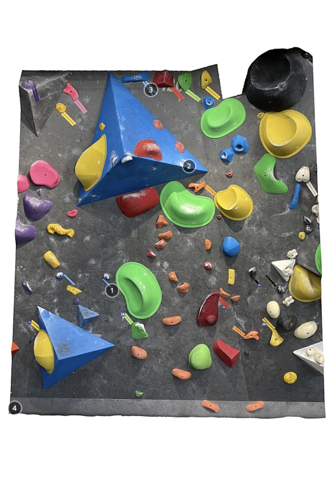 Bouldering Gym Share 1Q