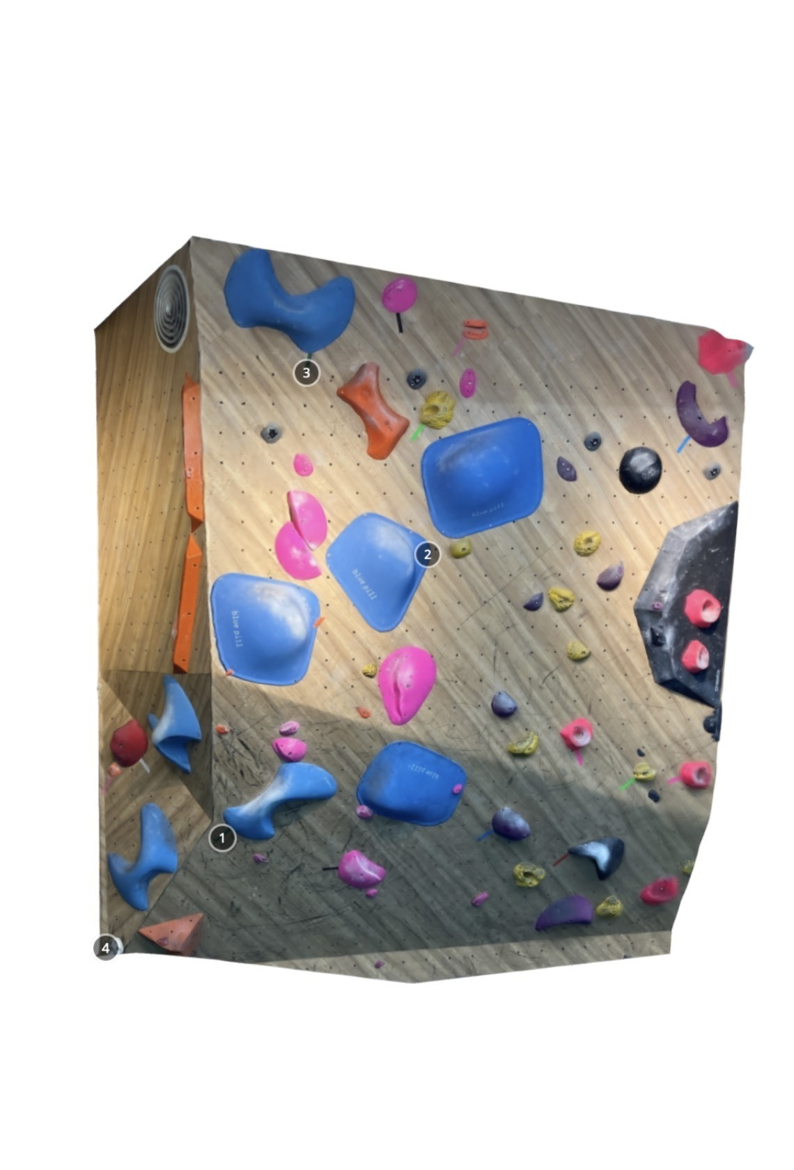 T-UP Climbing Gym Wanhua V6