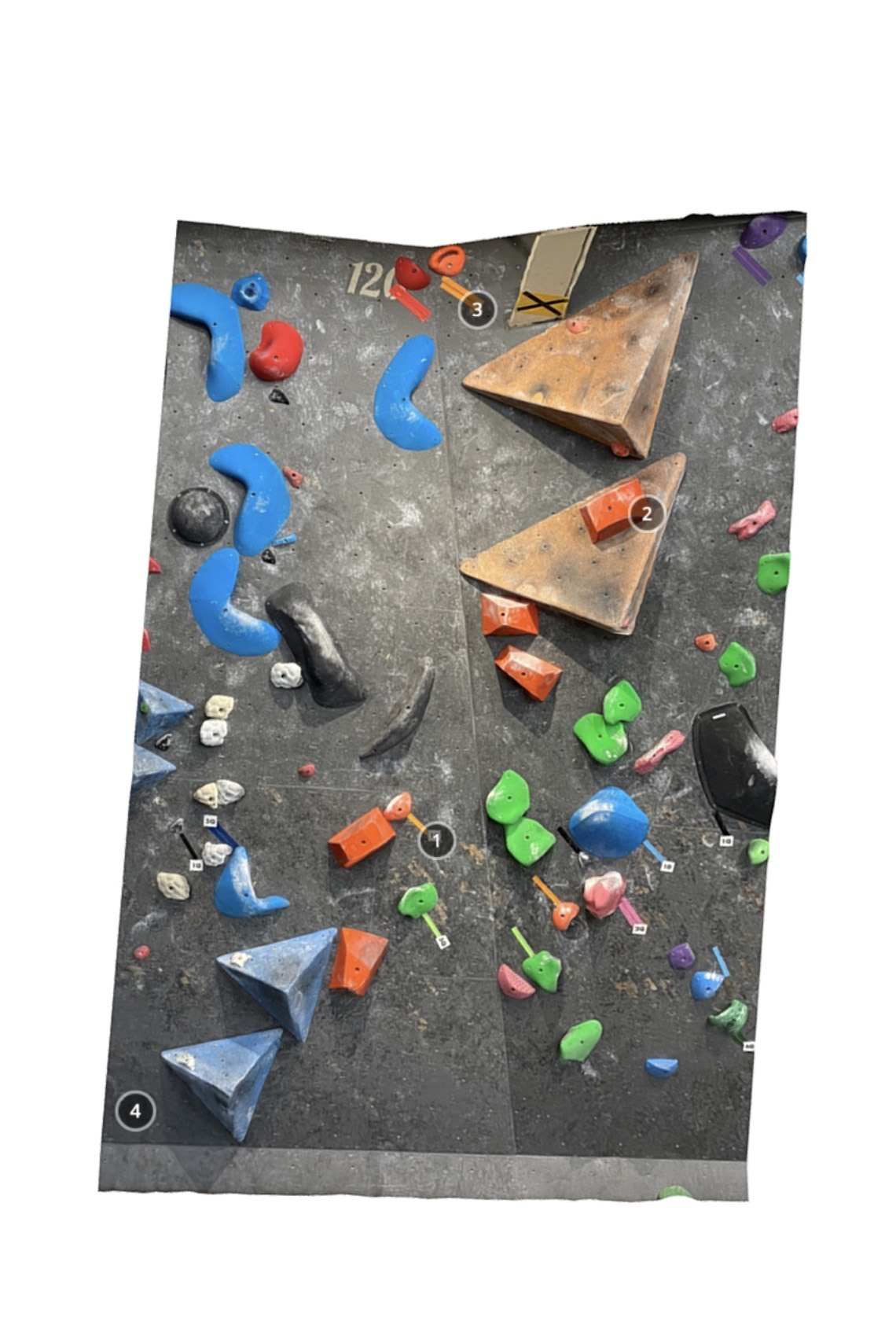 Bouldering Gym Share 1Q