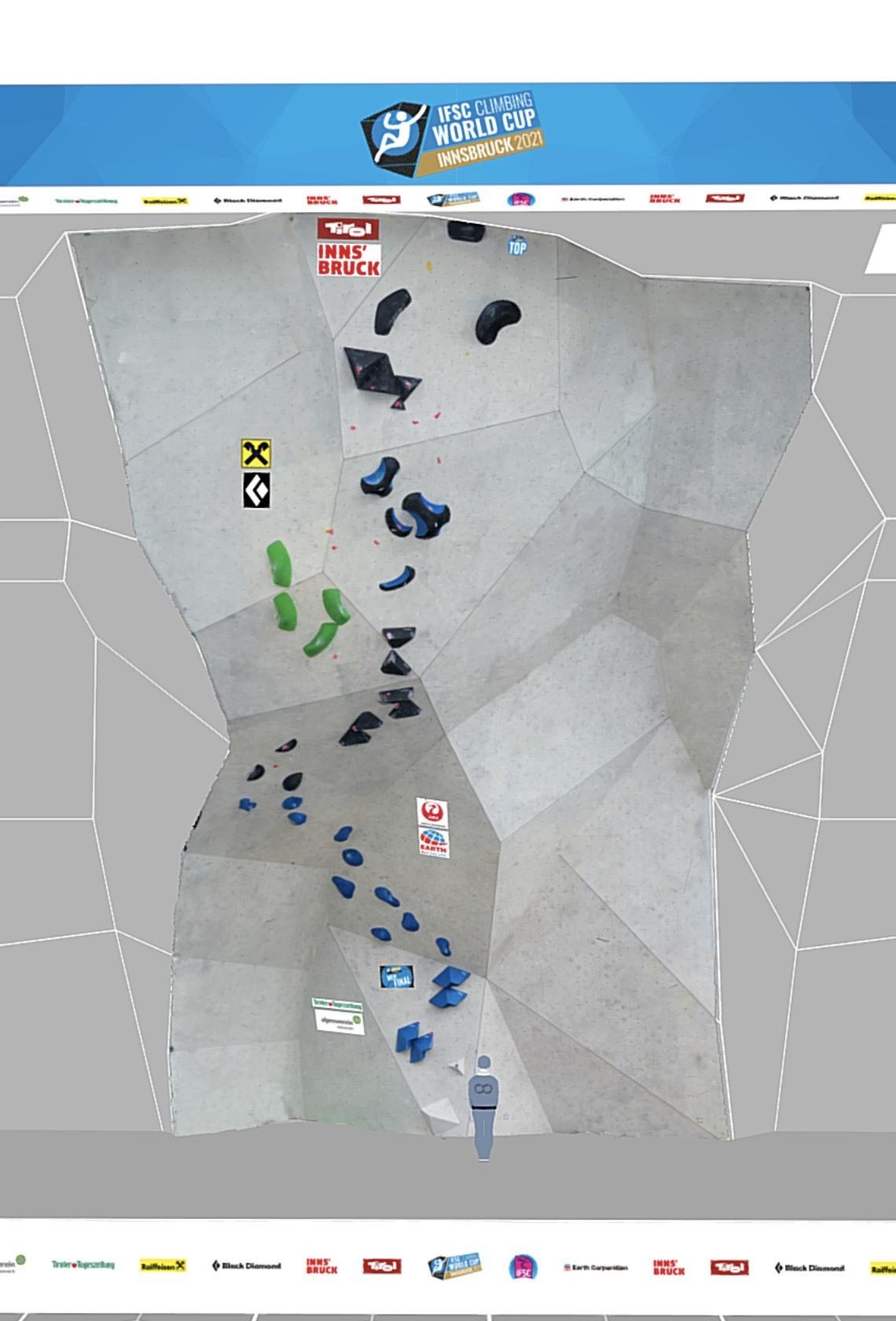 IFSC Climbing Worldcup Innsbruck 2021 Lead Final Men